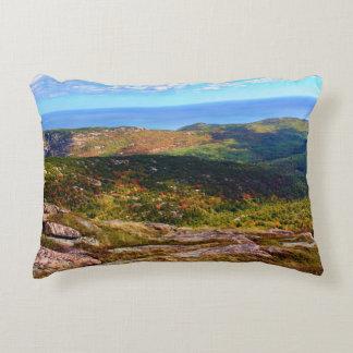 The Top Of Cadillac Mountain Decorative Pillow
