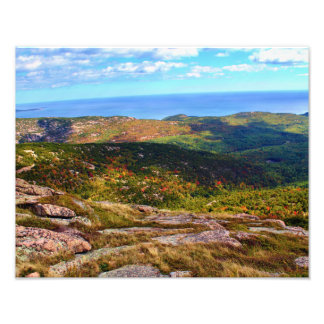 The Top Of Cadillac Mountain Photo Print