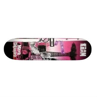 The top of the line hardrock maple Kram skateboard