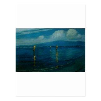 The Torchlight Fishermen, Waikiki Postcard