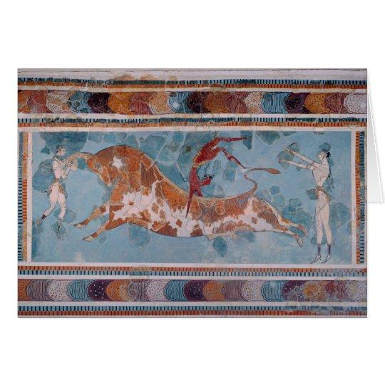 The Toreador Fresco, Knossos Palace, Crete Card