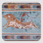 The Toreador Fresco, Knossos Palace, Crete Square Sticker