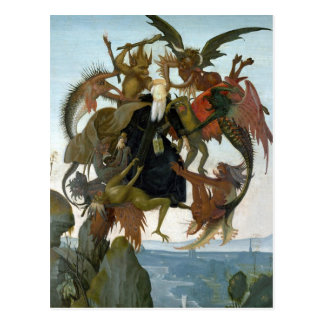The Torment of Saint Anthony Postcard