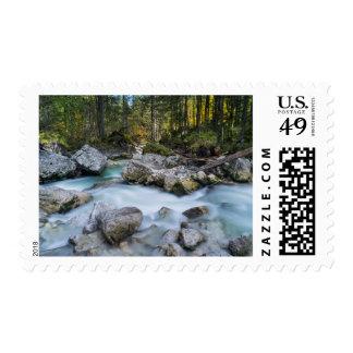 The torrent Ramsauer Ache Stamp