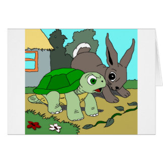The Tortoise and the Hare Collection 1 Greeting Card
