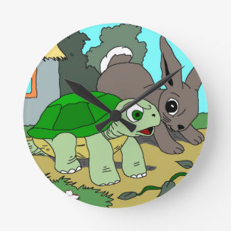 The Tortoise and the Hare Collection 1 Wall Clocks