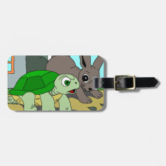 The Tortoise and the Hare Collection 1 Travel Bag Tag