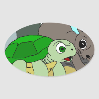 The Tortoise and the Hare Collection 1 Stickers
