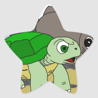 The Tortoise and the Hare Collection 1 Star Sticker