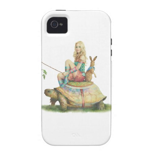 The Tortoise and The Hare iPhone 4 Fundas