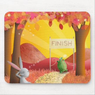 The Tortoise and the Hare - mouse mat Mouse Pad