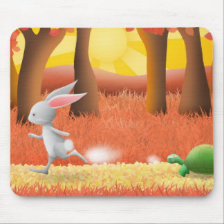 The Tortoise and the Hare - mouse pad