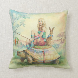 'The Tortoise and the Hare' Pillows