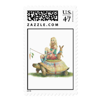 The Tortoise and the Hare Postage