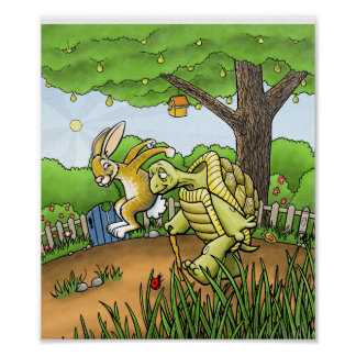The Tortoise and The Hare Poster
