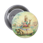 'The Tortoise & the Hare' Button