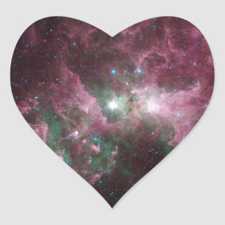 The Tortured Clouds of Eta Carinae Sticker
