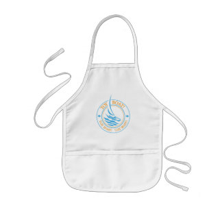 The Tot Spot_Toy Boat (Blue & Gold) apron