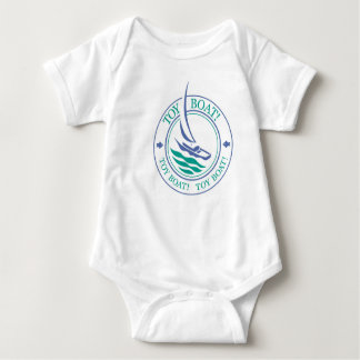 The Tot Spot_Toy Boat (Lavender & Teal) t-shirt