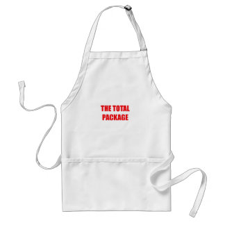 The Total Package Adult Apron