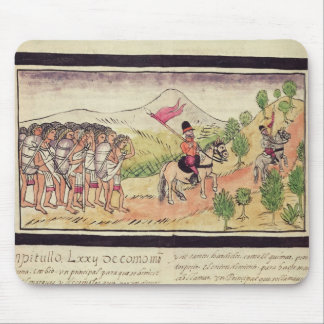 The Totonac Indians Helping the Conquistadors Mouse Pad