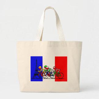 The Tour Arrives in Paris Tote Bag