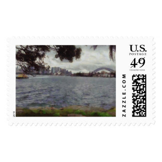 The tourist places of Sydney Postage