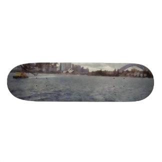 The tourist places of Sydney Skateboard Deck