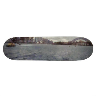 The tourist places of Sydney Skateboard Deck