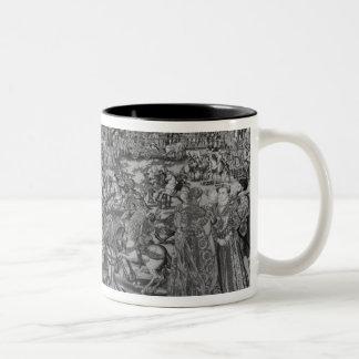 The Tournament, Brussels Workshop Two-Tone Coffee Mug