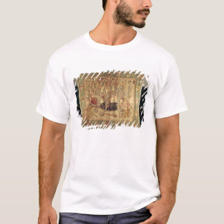 The Tournament, vertical loom tapestry T-Shirt