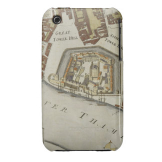 The Tower and St. Catherine's, detail of the Tower Case-Mate iPhone 3 Case
