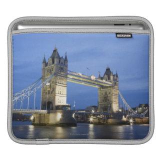 The Tower Bridge at Dusk iPad Sleeve