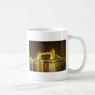 The Tower Bridge By Night Coffee Mug