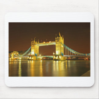 The Tower Bridge By Night Mouse Pad