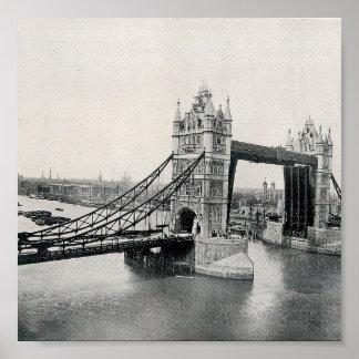 The Tower Bridge, London 1913 Posters