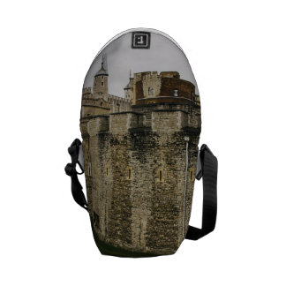 The Tower, London, Historical Travel Photograph Courier Bag