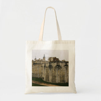 The Tower, London, Historical Travel Photograph Tote Bag