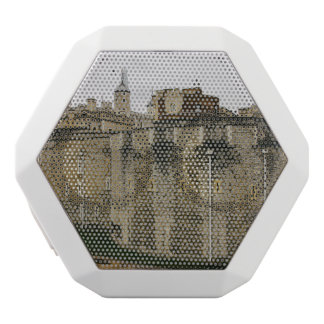 The Tower, London, Historical Travel Photograph White Bluetooth Speaker