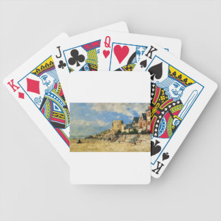The Tower Malakoff and the Trouville Shore by Euge Bicycle Playing Cards