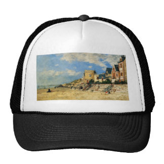 The Tower Malakoff and the Trouville Shore by Euge Trucker Hat