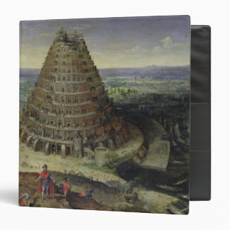 The Tower of Babel, 1594 3 Ring Binder