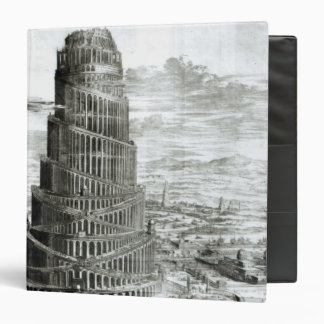 The Tower of Babel, 1679 Binder