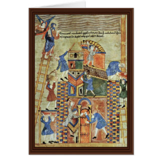 The Tower Of Babel By Meister Der Paraphrasen Des Card