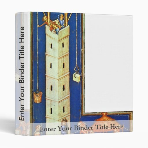 The Tower Of Babel By Meister Der Weltenchronik (B 3 Ring Binders
