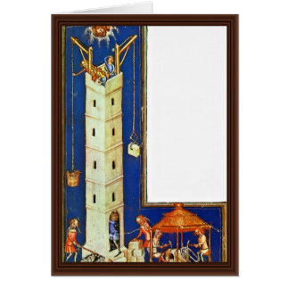 The Tower Of Babel By Meister Der Weltenchronik (B Cards