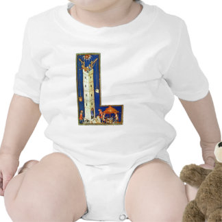 The Tower Of Babel By Meister Der Weltenchronik (B Tshirt