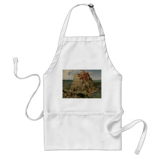 The Tower of Babel by Pieter Bruegel Apron