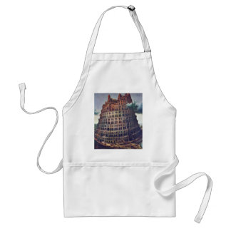 The Tower Of Babel. By Pieter Bruegel Apron