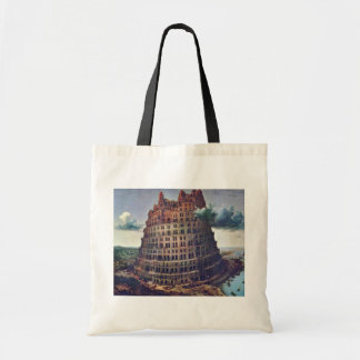 The Tower Of Babel. By Pieter Bruegel Budget Tote Bag